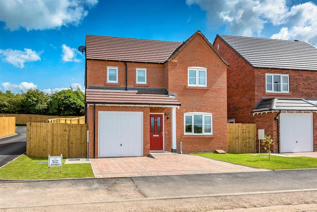 4 Bedrooms Detached House for sale in Redwing Fields, Shrewsbury