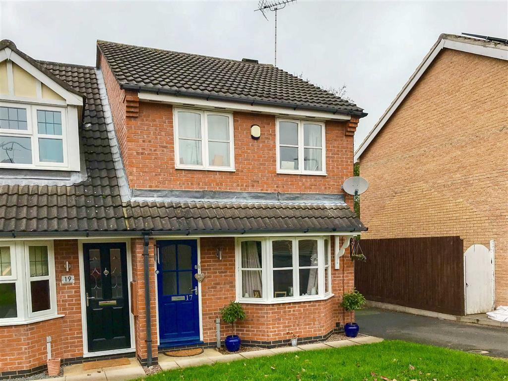 2 Bedrooms Semi Detached House for sale in Heron Road, Barrow Upon Soar, LE12