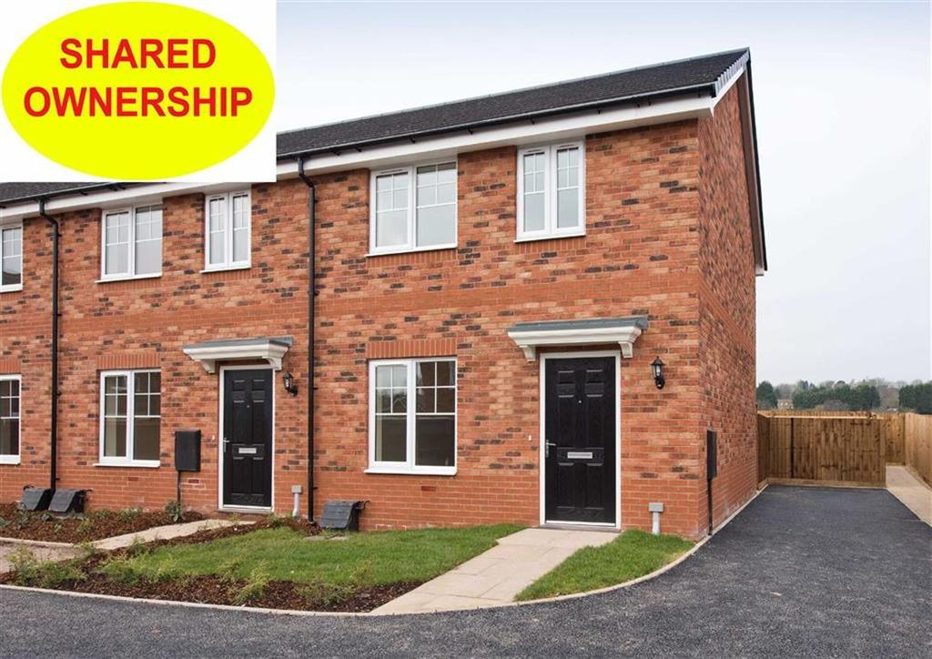 2 Bedrooms End Of Terrace House for sale in 7 Bushell Close, Plot 171, Watery Lane, Codsall, Wolverhampton, South Staffordshire, WV8