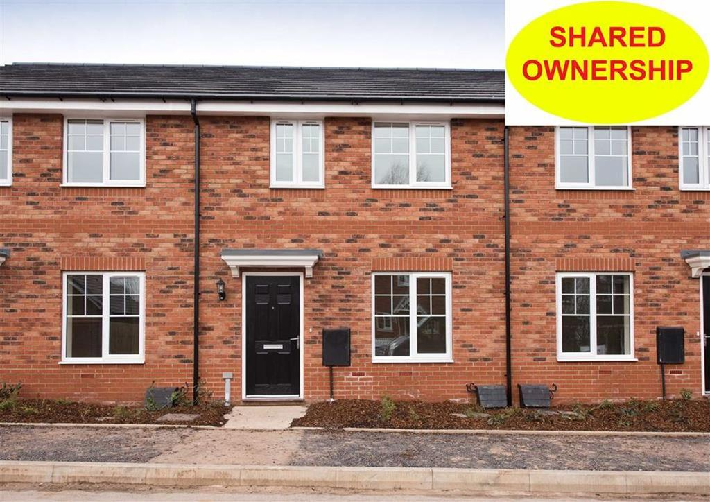 2 Bedrooms Terraced House for sale in 3 Bushell Close, Plot 169, Watery Lane, Codsall, Wolverhampton, South Staffordshire, WV8