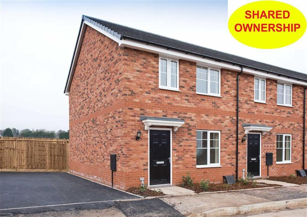 2 Bedrooms End Of Terrace House for sale in 1 Bushell Close, Plot 168, Watery Lane, Codsall, Wolverhampton, South Staffordshire, WV8