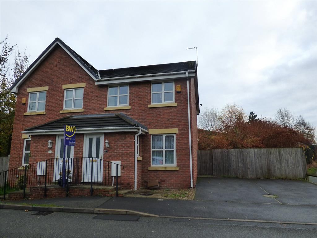 3 Bedrooms Semi Detached House for sale in Blacksmiths Fold, Atherton, Manchester, Greater Manchester, M46