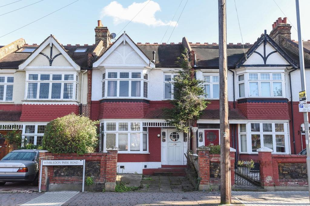 3 Bedrooms Terraced House for sale in Wimbledon Park Road, Southfields