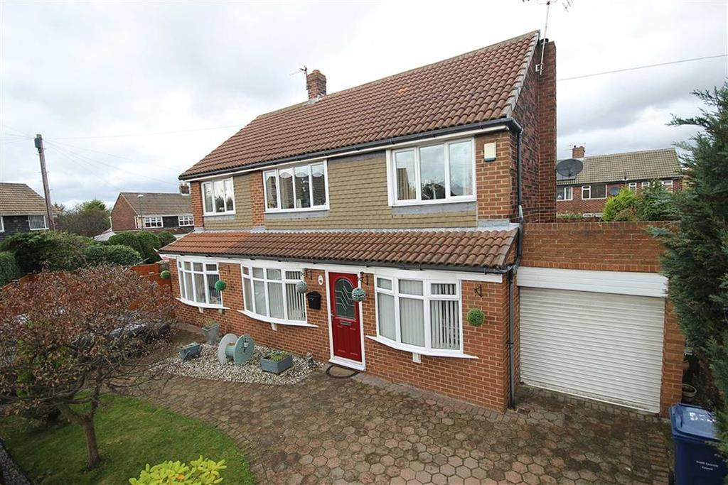 3 Bedrooms Detached House for sale in Capulet Grove, South Shields, Tyne And Wear