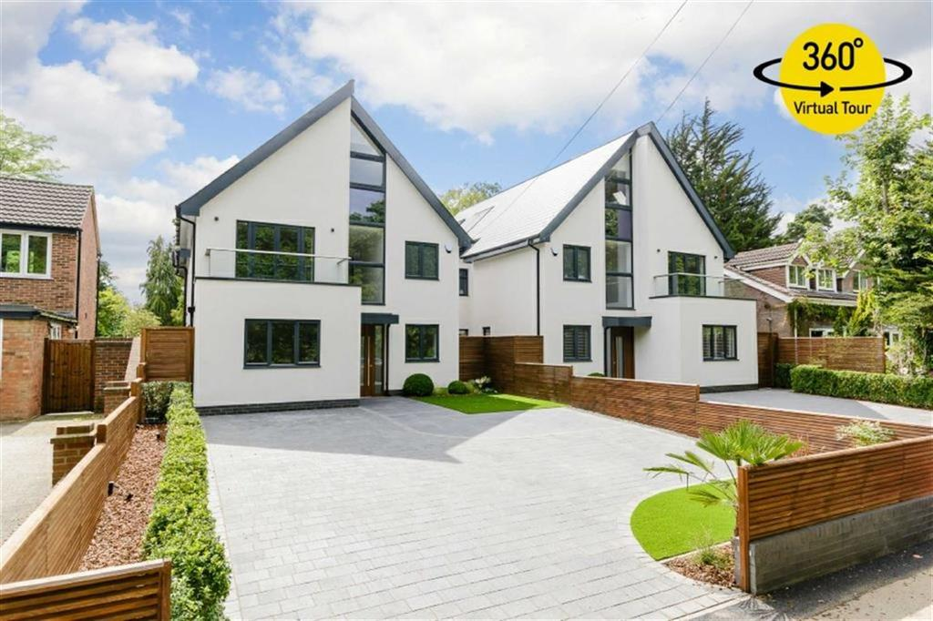 5 Bedrooms Detached House for sale in Upland Drive, Brookmans Park, Hertfordshire