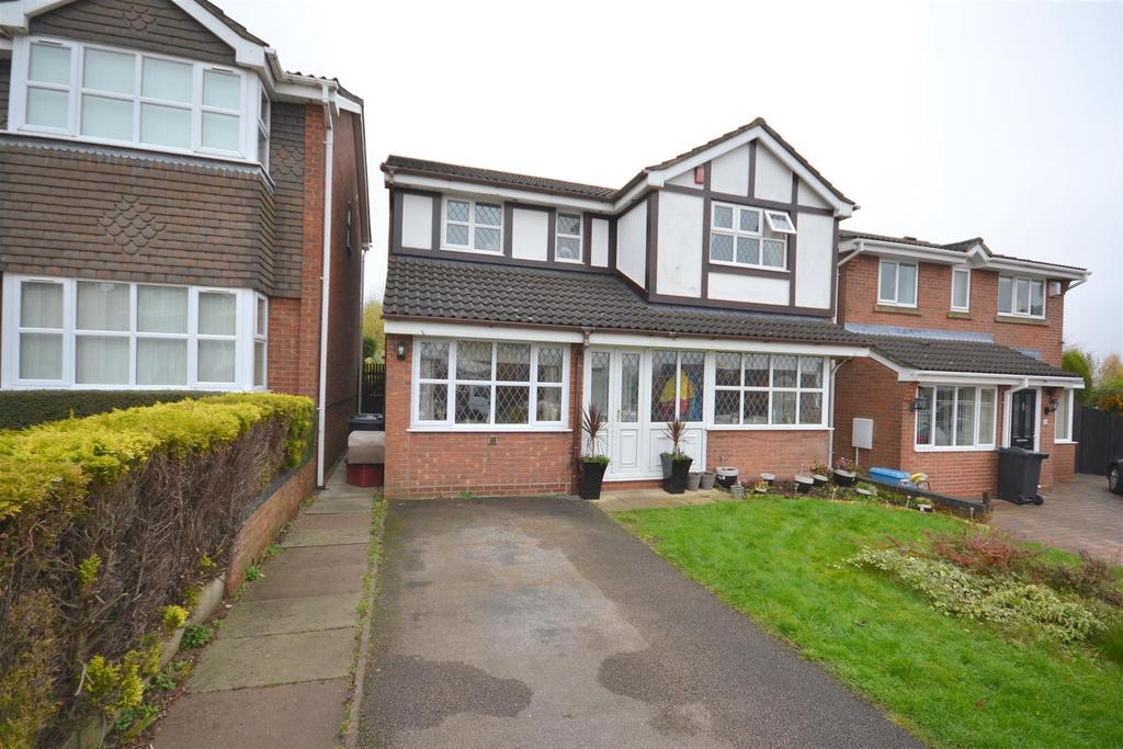 4 Bedrooms Detached House for sale in Walkersgreen Road, Waterhayes, Newcastle