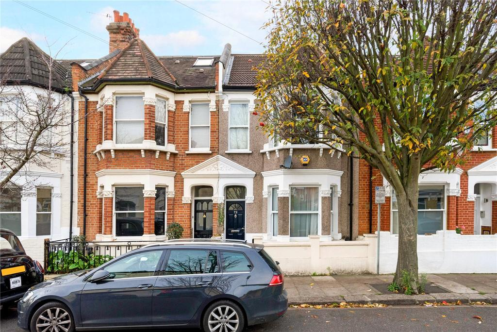 3 Bedrooms Terraced House for sale in Bronsart Road, Fulham, London, SW6