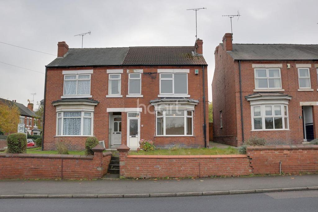3 Bedrooms Semi Detached House for sale in Welbeck Road, Mansfield Woodhouse