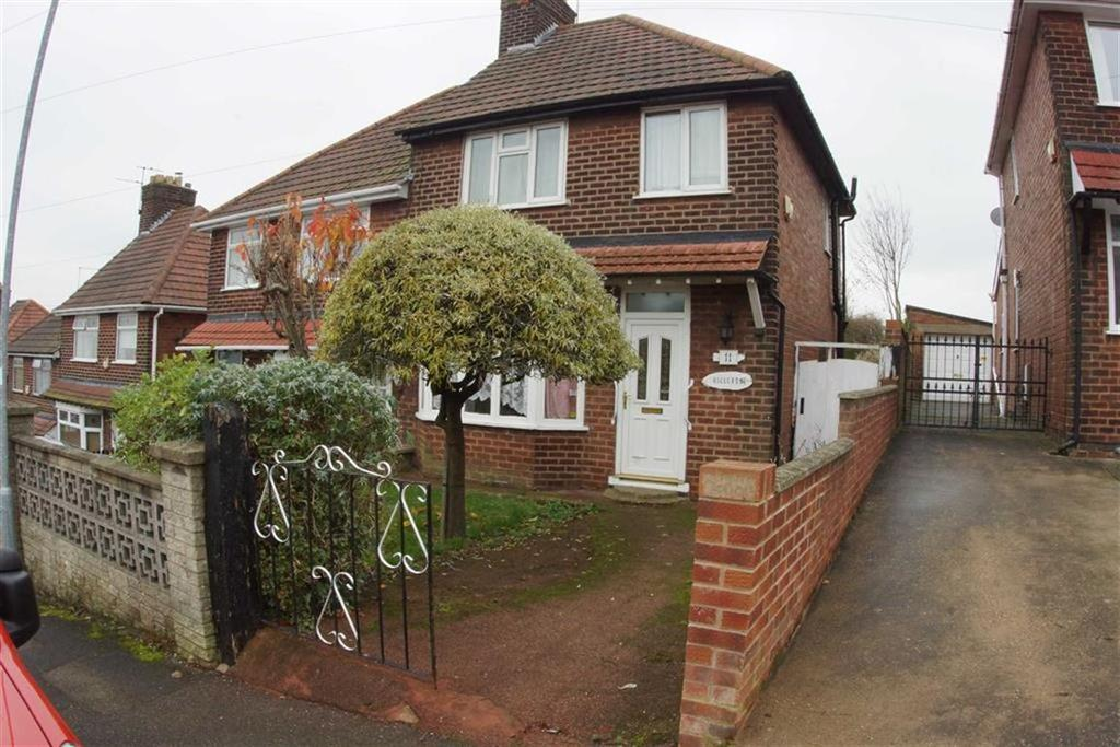 3 Bedrooms Semi Detached House for sale in 11, The Knoll, Mansfield, Notts, NG18