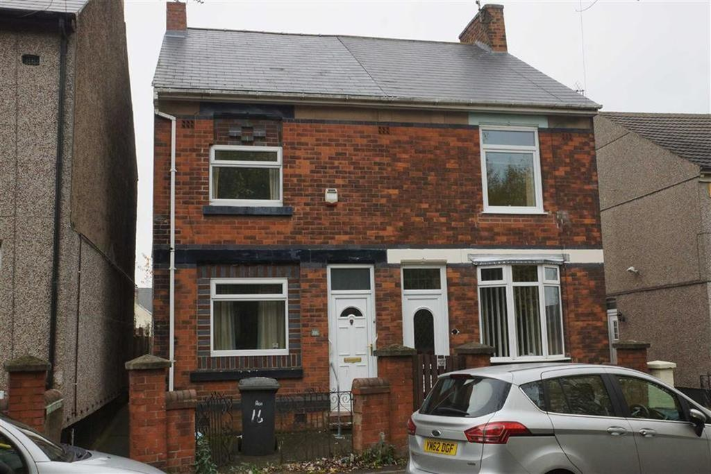 2 Bedrooms Semi Detached House for sale in 16, Lindleys Lane, Kirkby In Ashfield, Notts, NG17