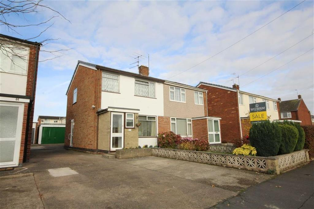 3 Bedrooms Semi Detached House for sale in Moorhill Road, Leamington Spa, CV31