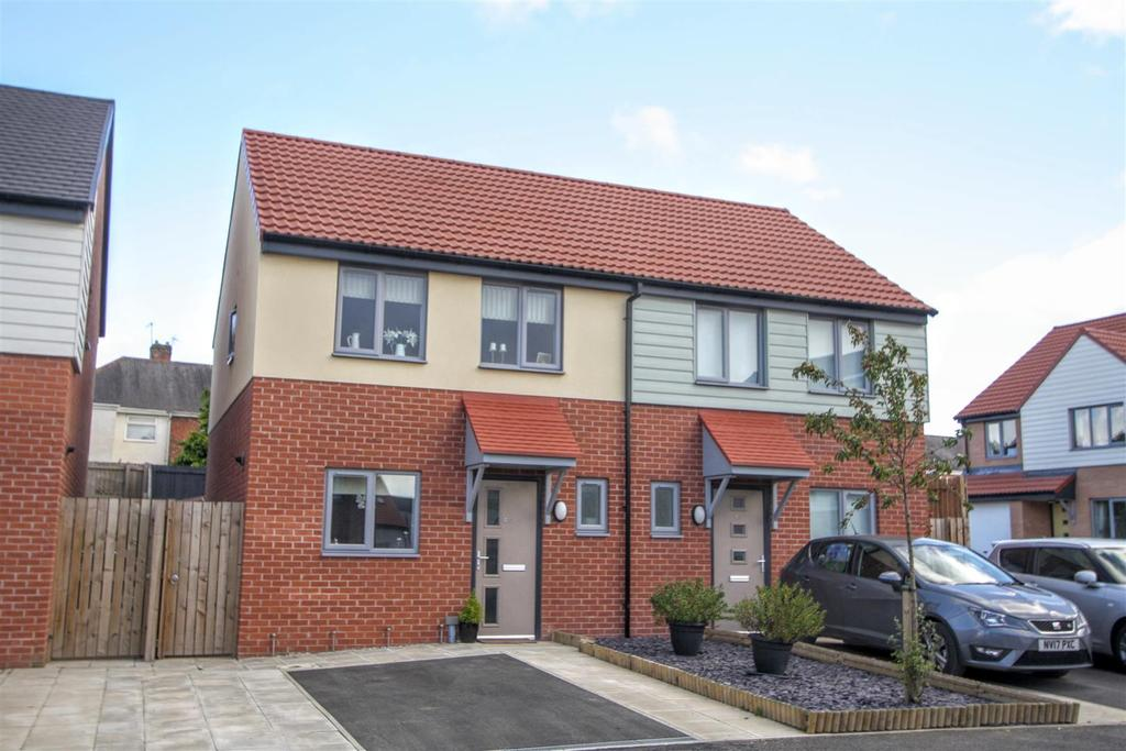 2 Bedrooms Semi Detached House for sale in Iris Grove, Darlington