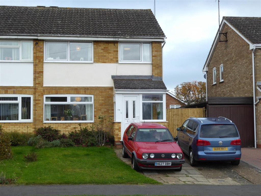 3 Bedrooms Semi Detached House for sale in St. Johns Road, Kettering