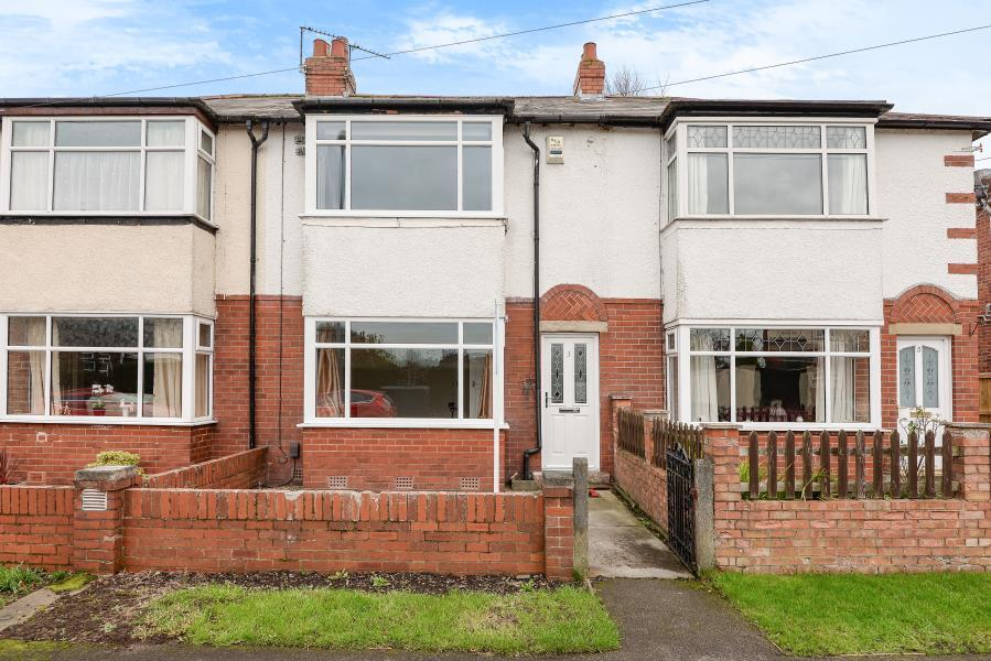 2 Bedrooms Terraced House for sale in GRANGE AVENUE, YEADON, LEEDS, LS19 7AQ