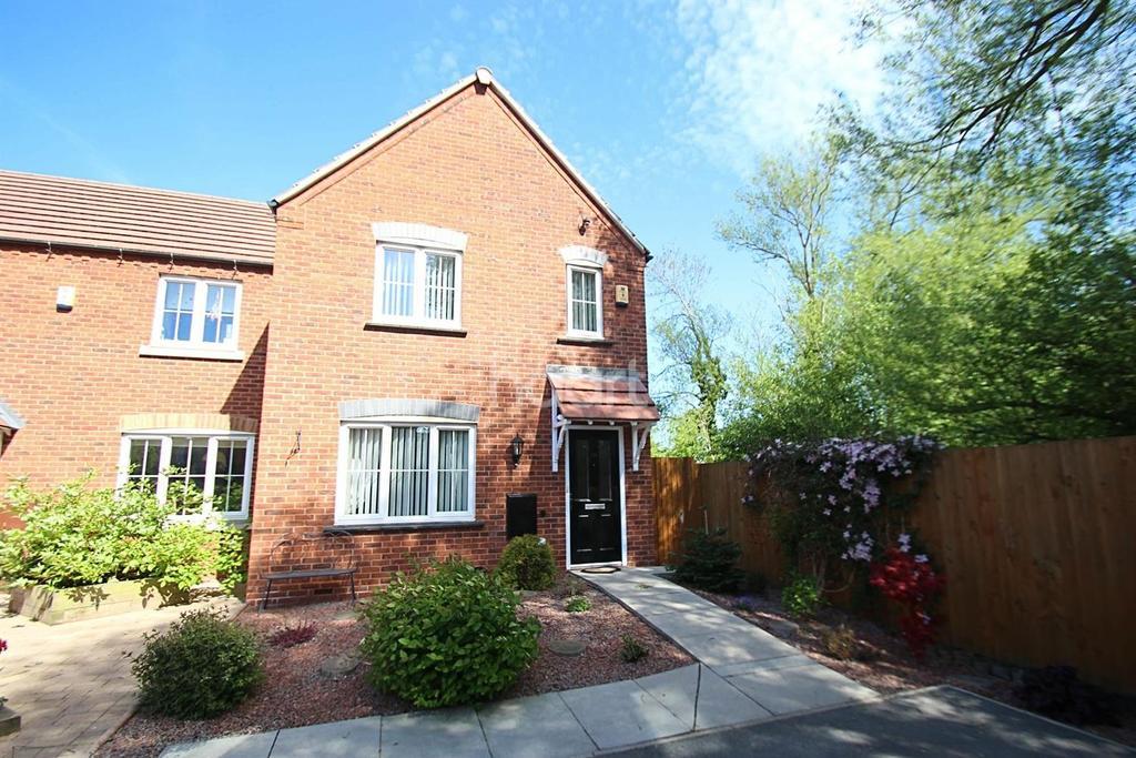 3 Bedrooms Semi Detached House for sale in Woodhouse Gardens, Ruddington, Nottinghamshire