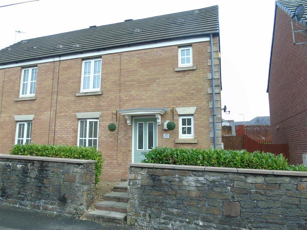 3 Bedrooms Semi Detached House for sale in Sunninghill Terrace, Llanelli