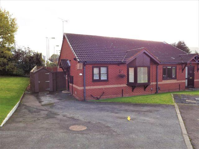 2 Bedrooms Semi Detached Bungalow for sale in Goldieslie Close,Sutton Coldfield,West Midlands