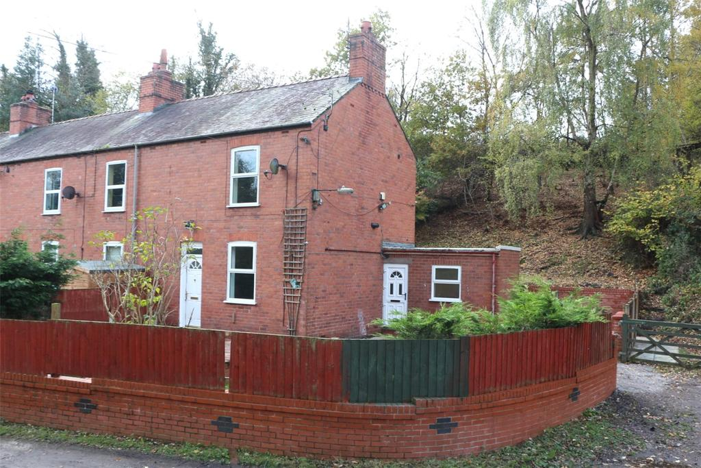 2 Bedrooms End Of Terrace House for sale in Brandy Cottages, Ruabon, Wrexham, LL14