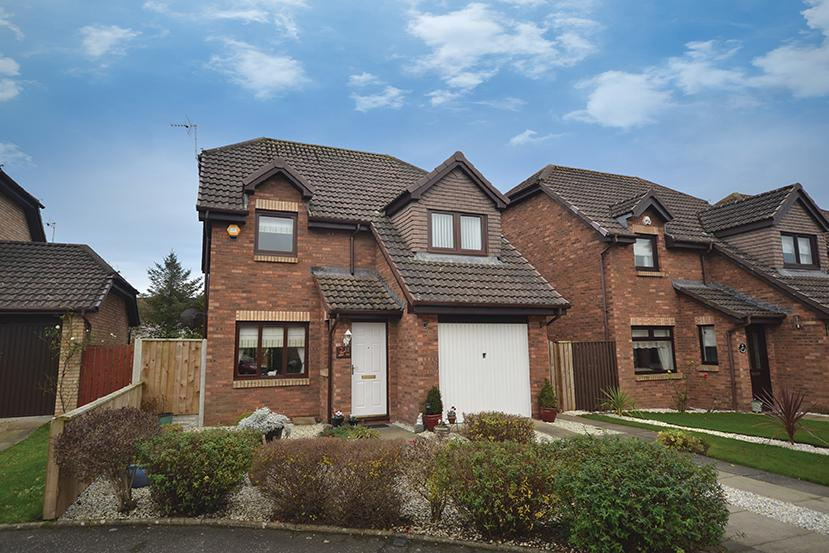 3 Bedrooms Detached Villa House for sale in 12 McAdam Court, Prestwick, KA9 2NB
