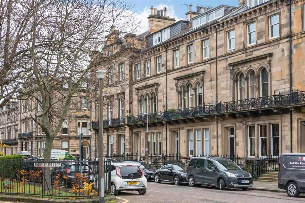 2 Bedrooms Apartment Flat for sale in Rothesay Place, Edinburgh, Midlothian