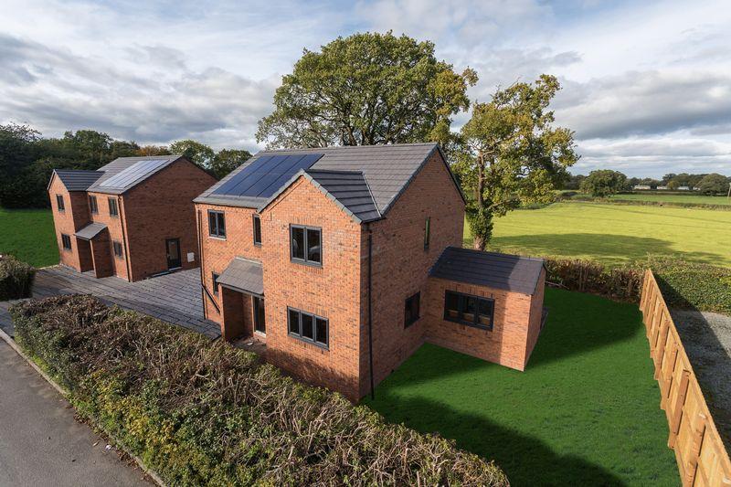 4 Bedrooms Detached House for sale in Plot 1, Greenfields, Tudor Drive, Penley, Near Ellesmere