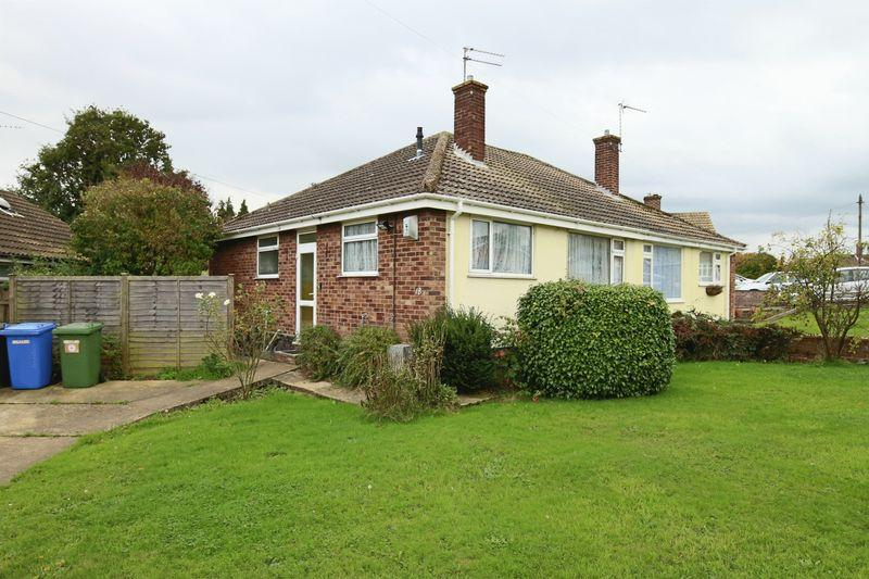 2 Bedrooms Semi Detached Bungalow for sale in June Avenue, Lowestoft