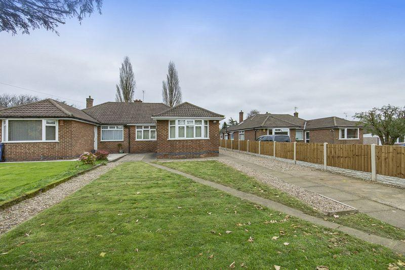 3 Bedrooms Semi Detached Bungalow for sale in LEAMINGTON CLOSE, DERBY