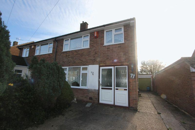 3 Bedrooms Semi Detached House for sale in Fairgreen Road, Caddington