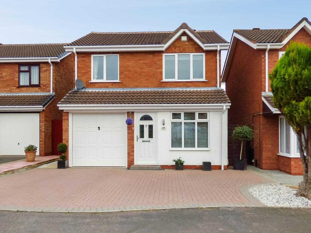 3 Bedrooms Detached House for sale in Curlew Close, Lichfield