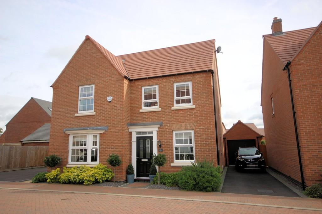 4 Bedrooms Detached House for sale in Clarence Place, Ashby-de-la-Zouch