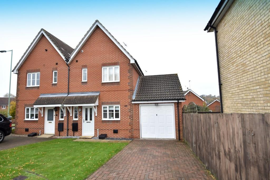 2 Bedrooms Semi Detached House for sale in Cinnabar Close, Ipswich, IP8 3UB