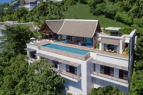 5 bedroom villa  - A Part of the Ultra-Exclusive Estate on Hillside Above Nai Thon