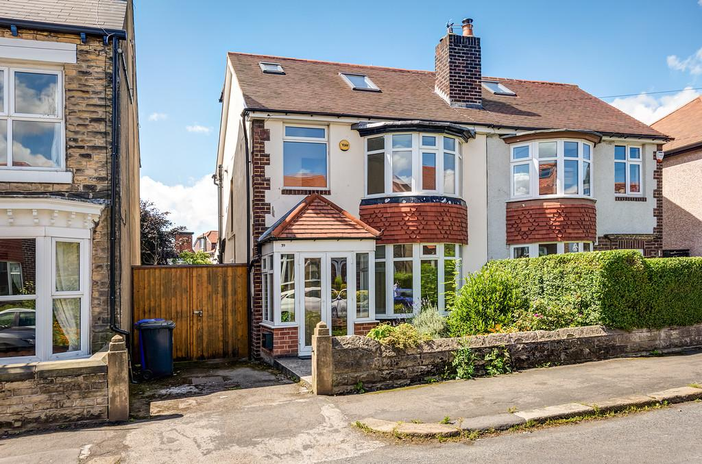 4 Bedrooms Semi Detached House for sale in Headland Road, Crosspool, Sheffield