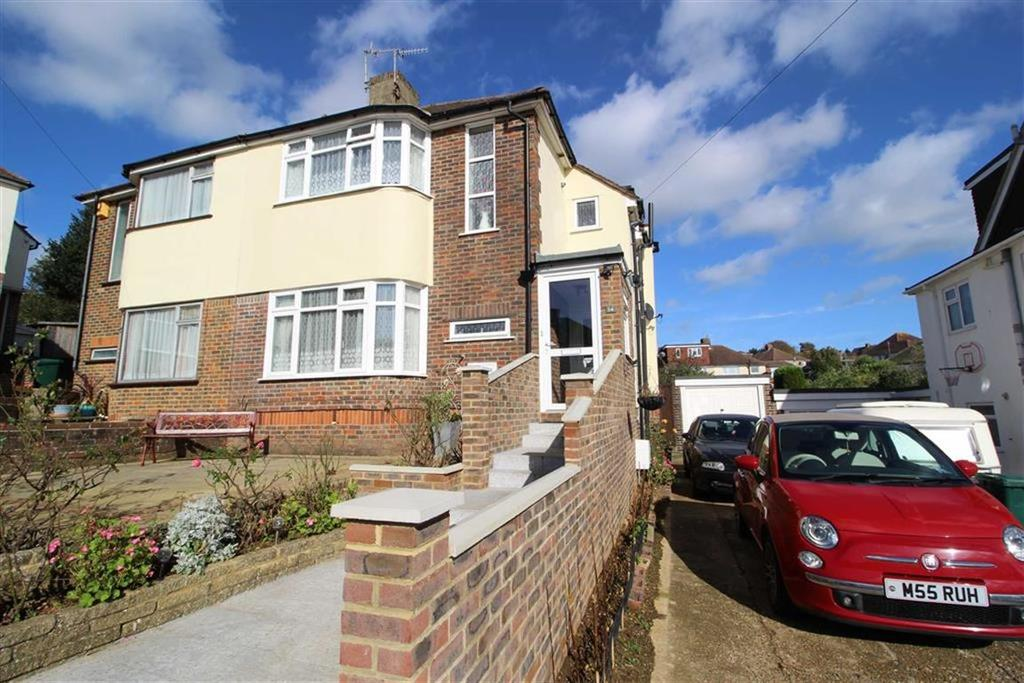 3 Bedrooms Semi Detached House for sale in Thornhill Close, Hove, East Sussex