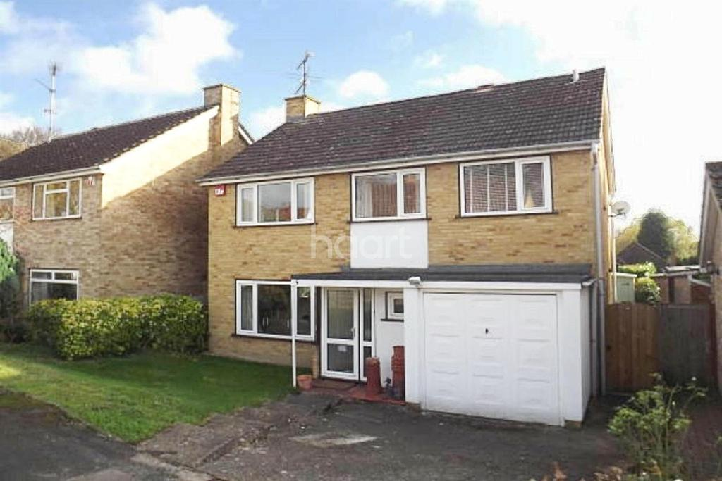 4 Bedrooms Detached House for sale in Highdown, Fleet