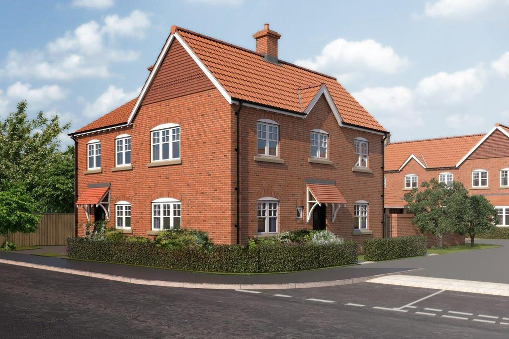 3 Bedrooms Semi Detached House for sale in Blacksmith Court, Cliffe, Selby