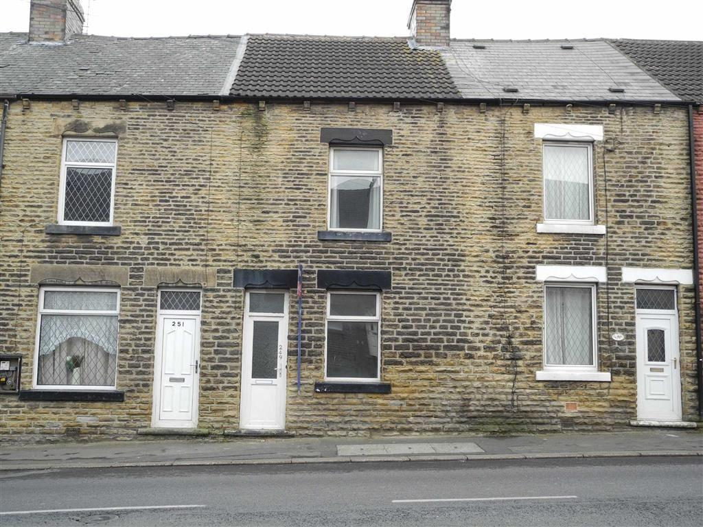 3 Bedrooms Terraced House for sale in Pontefract Road, Cudworth, Barnsley, S72