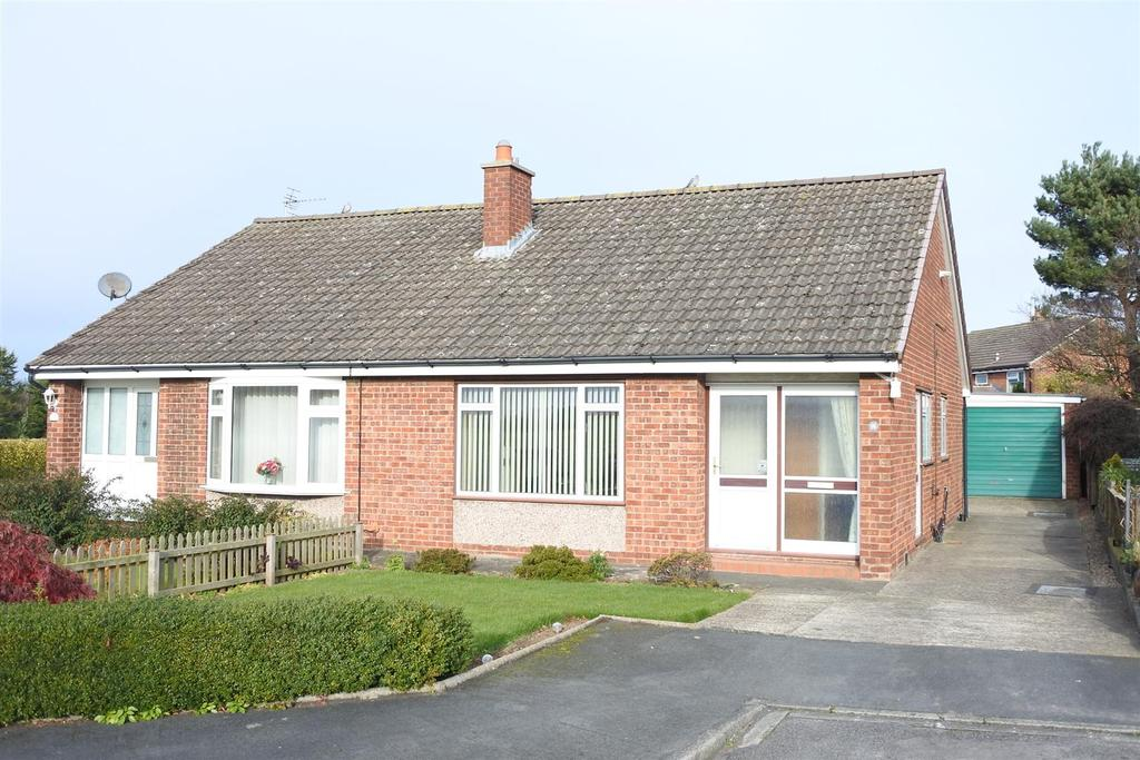 2 Bedrooms Semi Detached Bungalow for sale in St Wilfred Drive, Northallerton