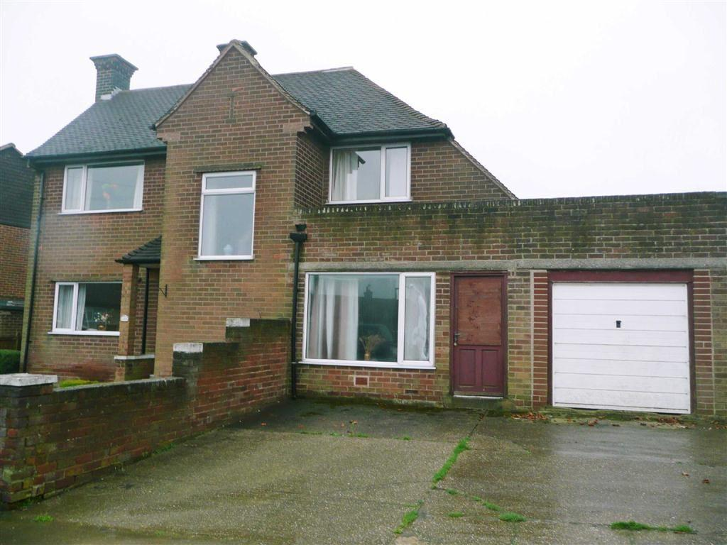 2 Bedrooms Semi Detached House for sale in Masefield Avenue, Holmewood, Chesterfield, S42