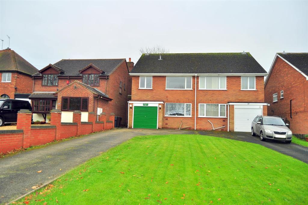 4 Bedrooms Semi Detached House for sale in Dark Lane, Romsley, Halesowen