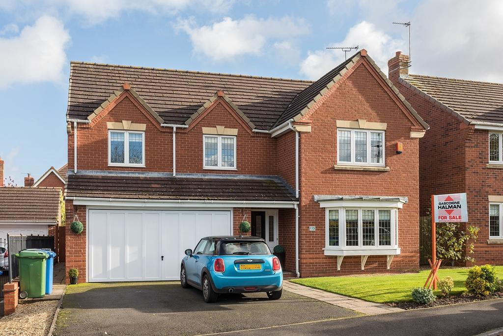 5 Bedrooms Detached House for sale in Bucklow Gardens, Lymm