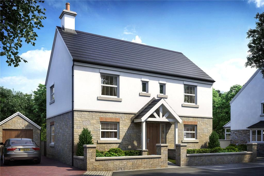 4 Bedrooms Detached House for sale in Trispen Meadows, Trispen, Truro