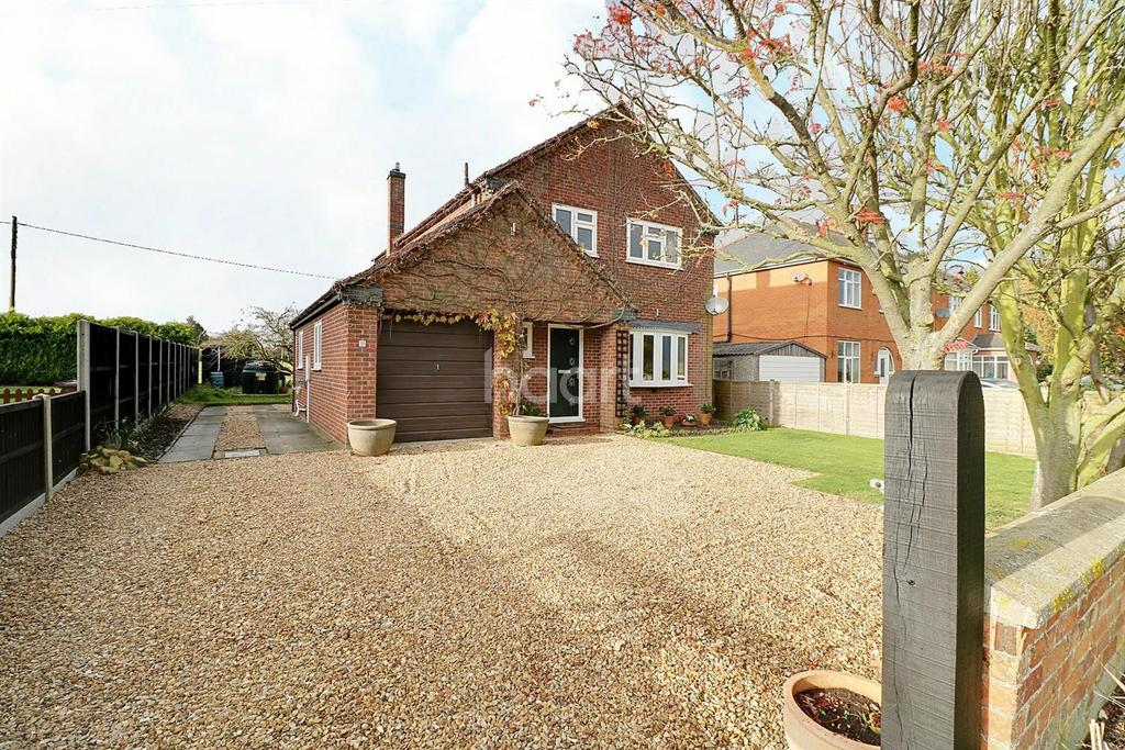 3 Bedrooms Detached House for sale in London Road, Osbournby, Sleaford