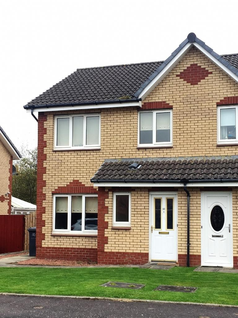 3 Bedrooms Semi Detached House for sale in 55 Buller Crescent, Blantyre, Glasgow, G72 9JF