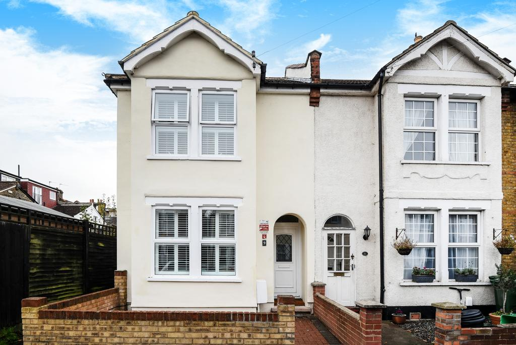 3 Bedrooms End Of Terrace House for sale in Salisbury Road Bromley BR2