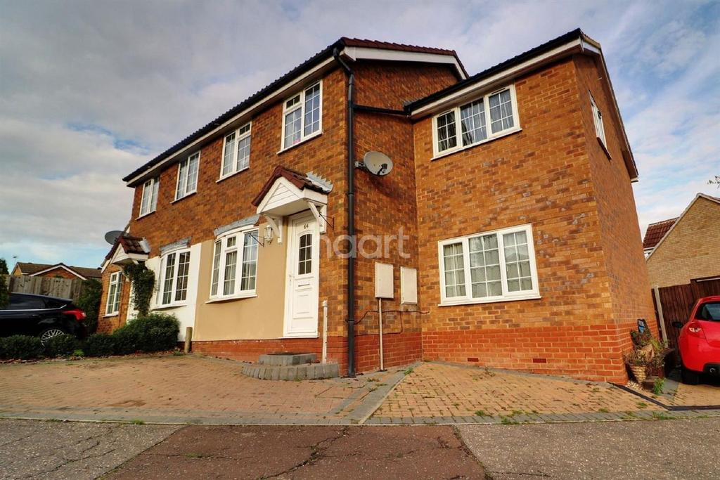 3 Bedrooms Semi Detached House for sale in Gainsborough Drive, Lawford, Manningtree, Essex