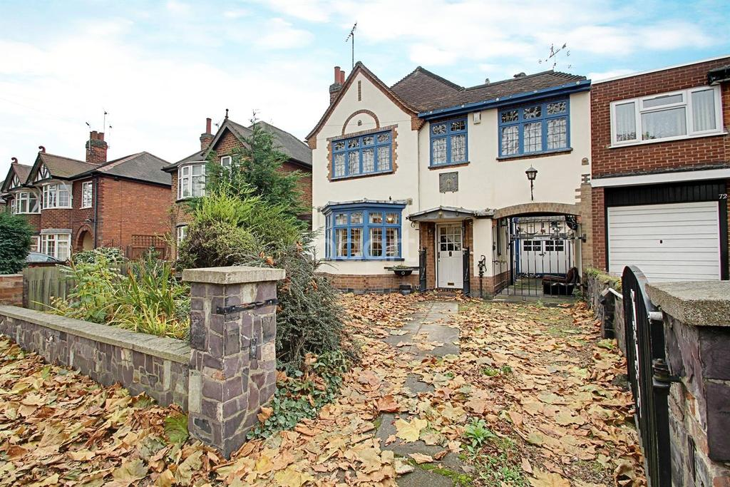 3 Bedrooms Detached House for sale in Blackbird Road, Leicester