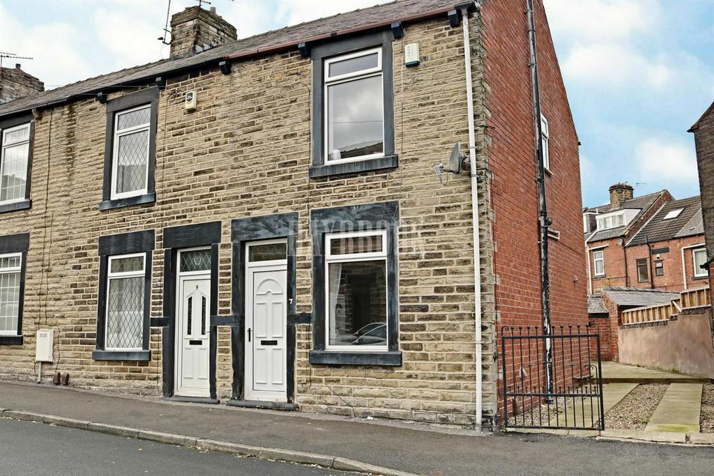 2 Bedrooms End Of Terrace House for sale in Clarendon Street, Barnsley