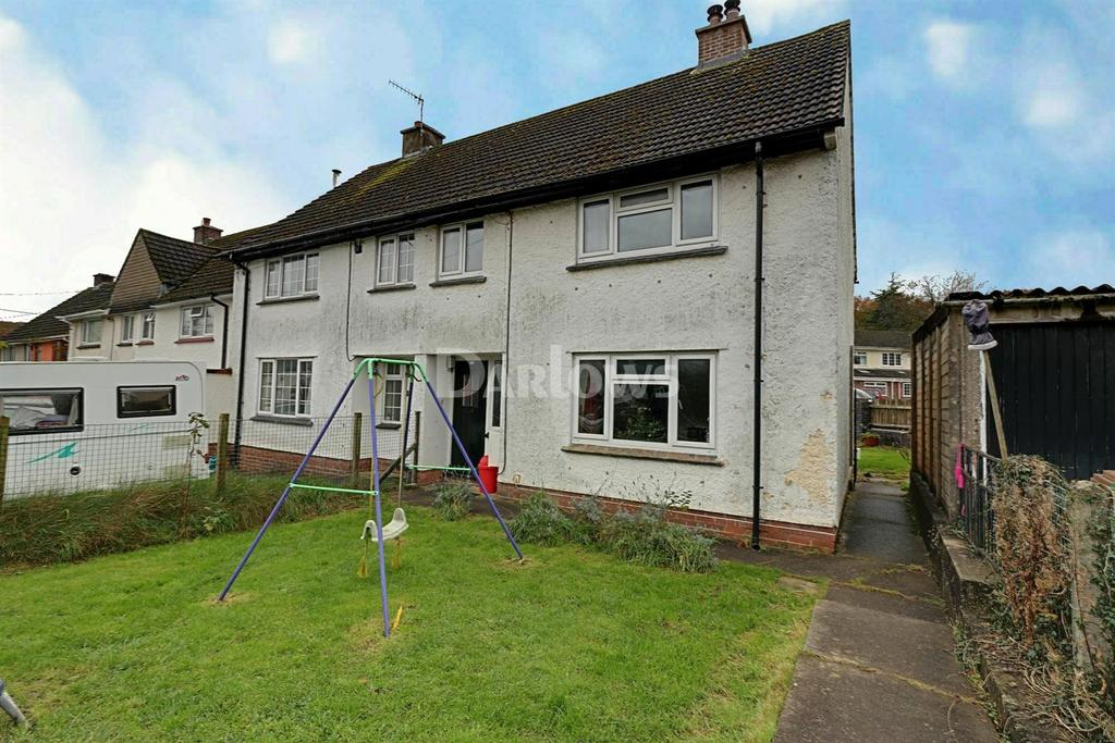 3 Bedrooms Semi Detached House for sale in Heol Y Garth, Rudry
