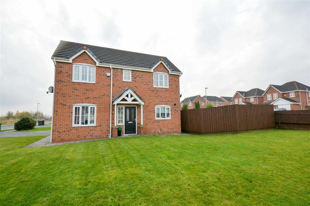 3 Bedrooms Detached House for sale in Whitworth Way, Springfield, Wigan, WN6